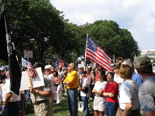 Vietnam Vets for Truth Rally